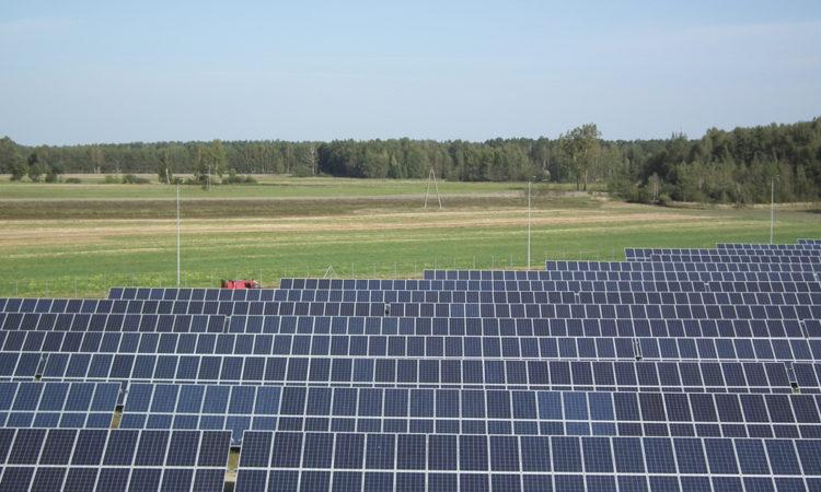 Moc systemów fotowoltaicznych zainstalowanych w Polsce