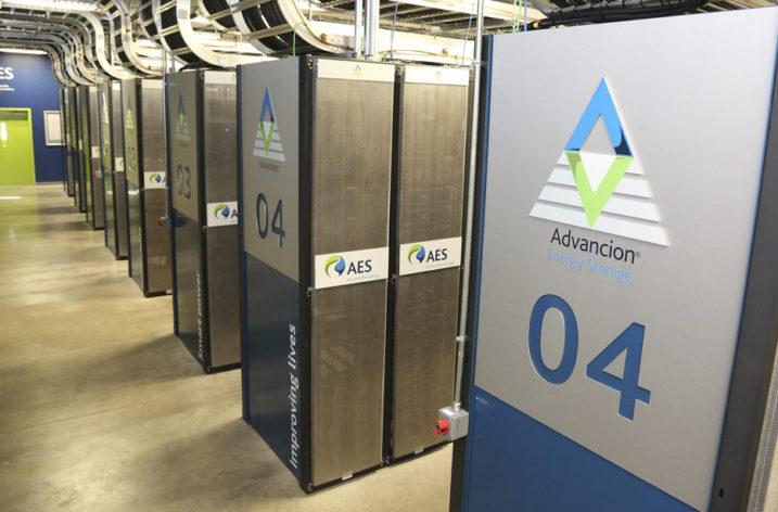 Technologia magazynowania energii Advancion® firmy AES