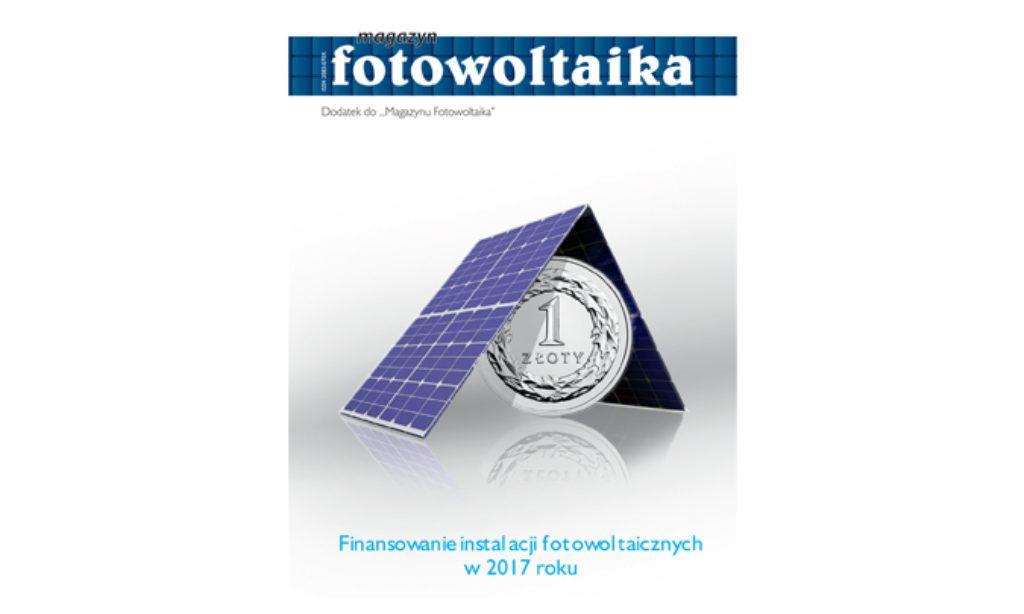 Dodatek: Finansowanie instalacji PV w 2017 r.