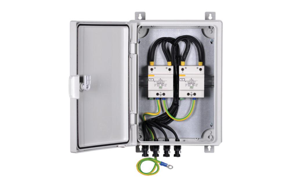 Zabezpieczanie instalacji fotowoltaicznych przed przepięciami