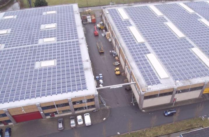Największy system dachowy w Holandii