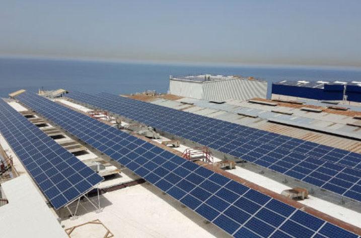 Fabryka kabli zasilana energią słoneczną