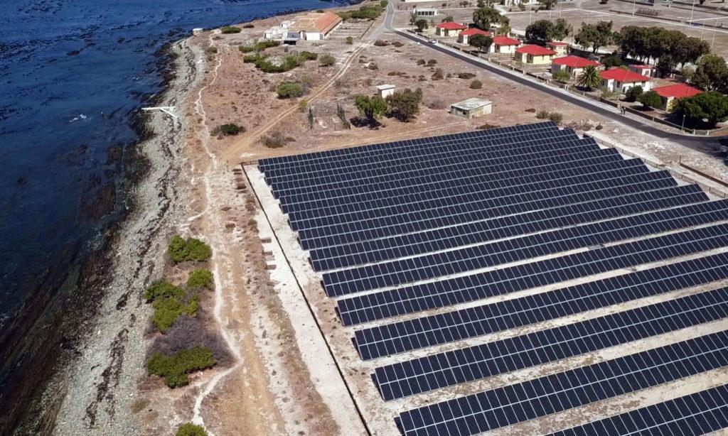 Energia słoneczna zasili wyspę Robben