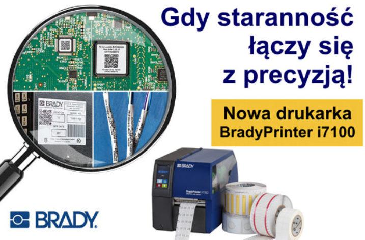BradyPrinter i7100: Gdy staranność łączy się z precyzją!
