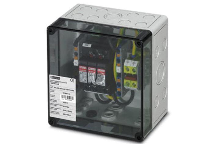 Kompletne skrzynki do ochrony obwodów DC instalacji fotowoltaicznych
