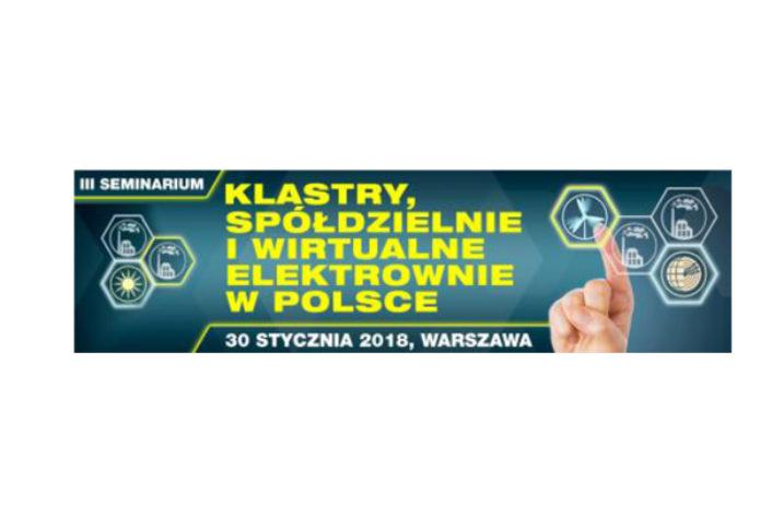 Klastry, Spółdzielnie i Wirtualne Elektrownie w Polsce