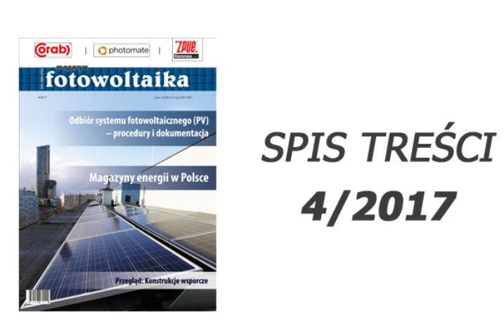SPIS TREŚCI 4/2017