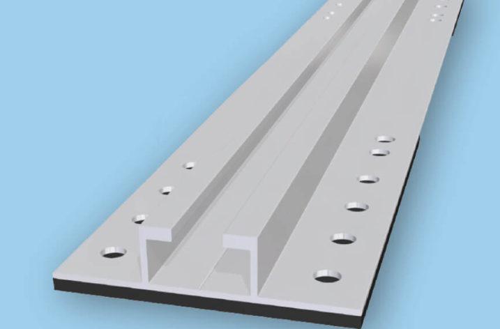 System do pionowej instalacji modułów PV