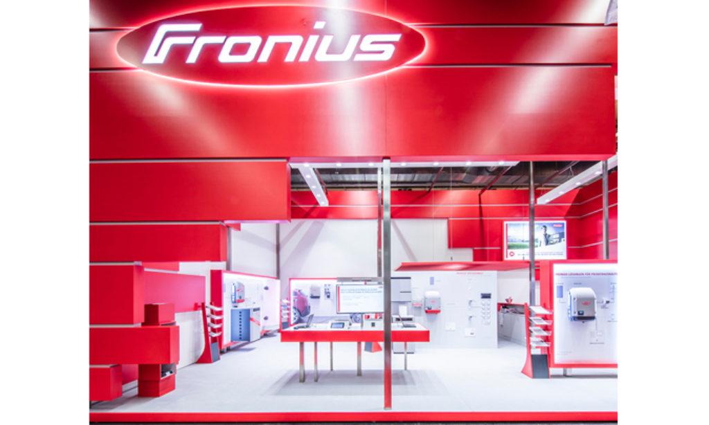 Fronius zaprasza do odwiedzenia zupełnie nowego stoiska na targach Intersolar 2018