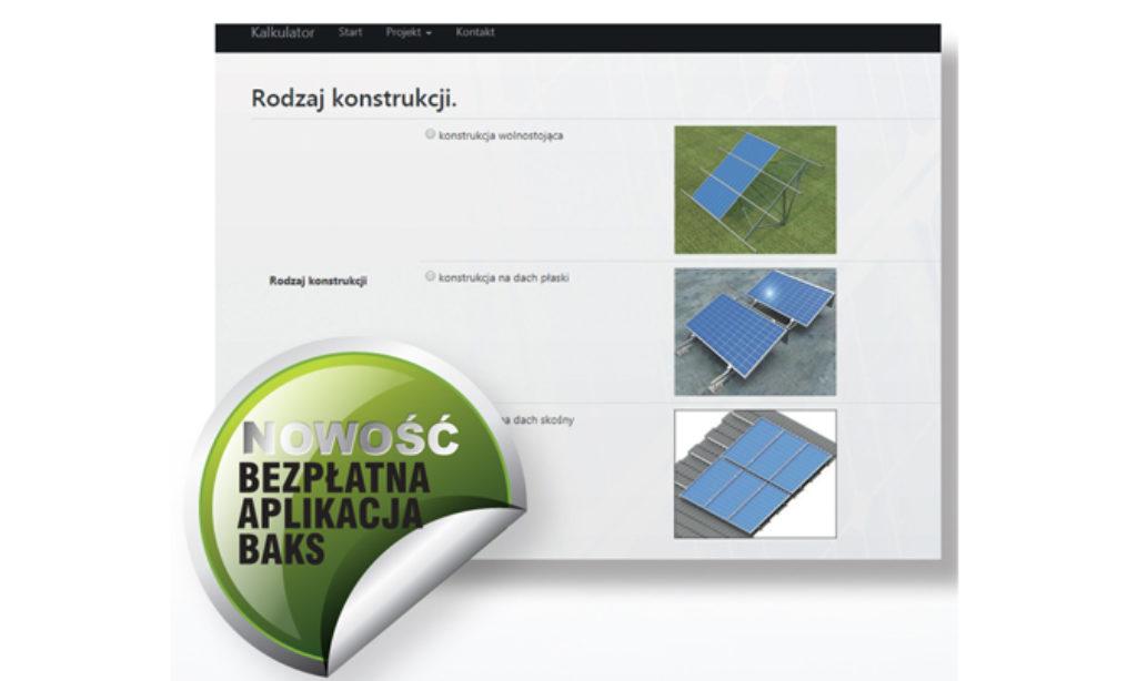 Bezpłatna aplikacja do tworzenia instalacji PV