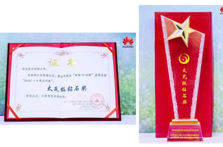 Top 10 Highest Award dla Huawei