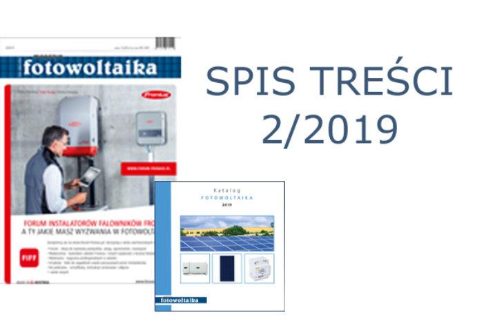 SPIS TREŚCI 2/2019