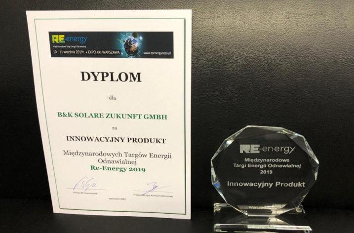 Systemy montażowe B&K Solare docenione przez rynek polski