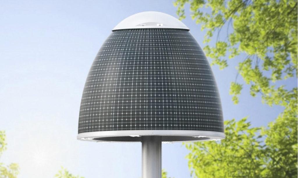 Oświetlenie uliczne zasilane energią słoneczną