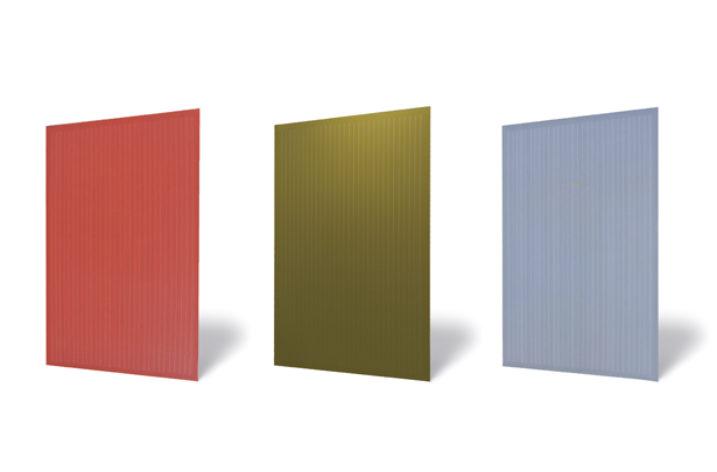 Kolorowe moduły fotowoltaiczne