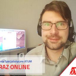 Szkolenia online w ATUM – przyjazny sposób nabycia nowych kwalifikacji!