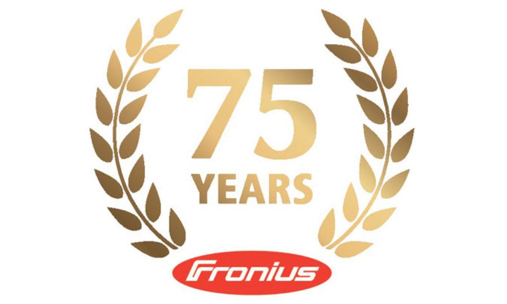Firma Fronius świętuje 75. urodziny