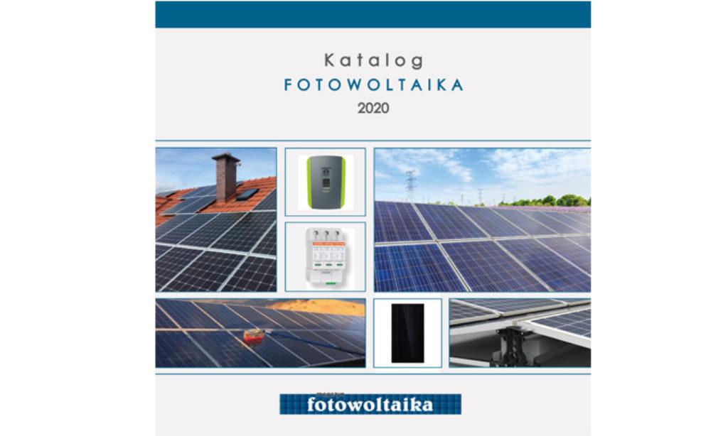 Katalog FOTOWOLTAIKA 2020