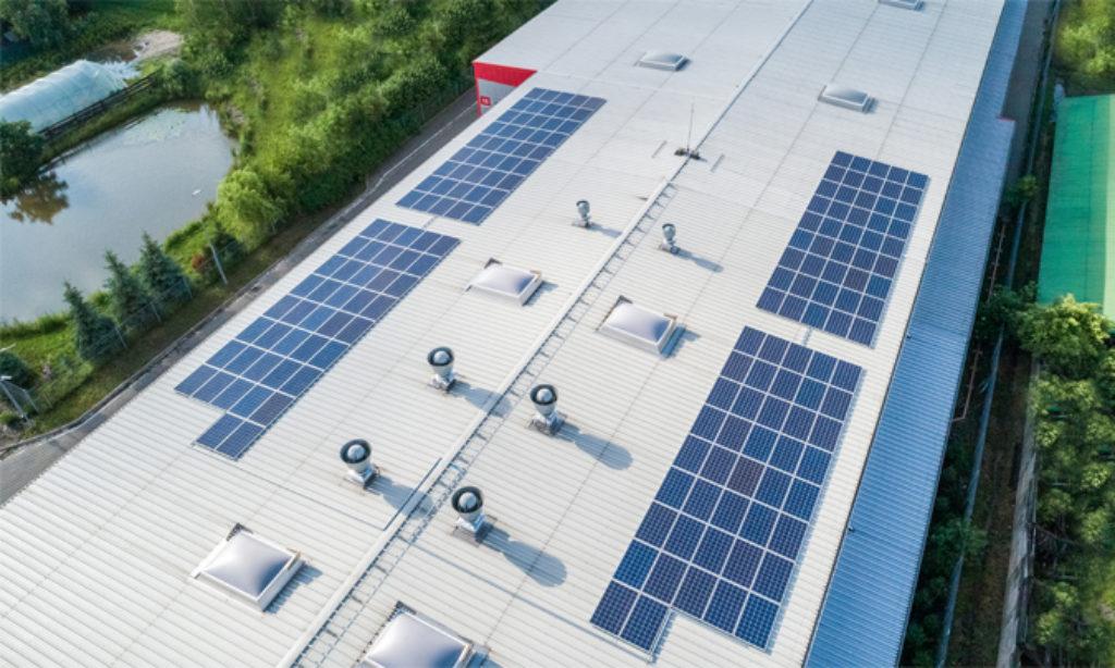 Energia wprost ze Słońca w Helukabel Polska