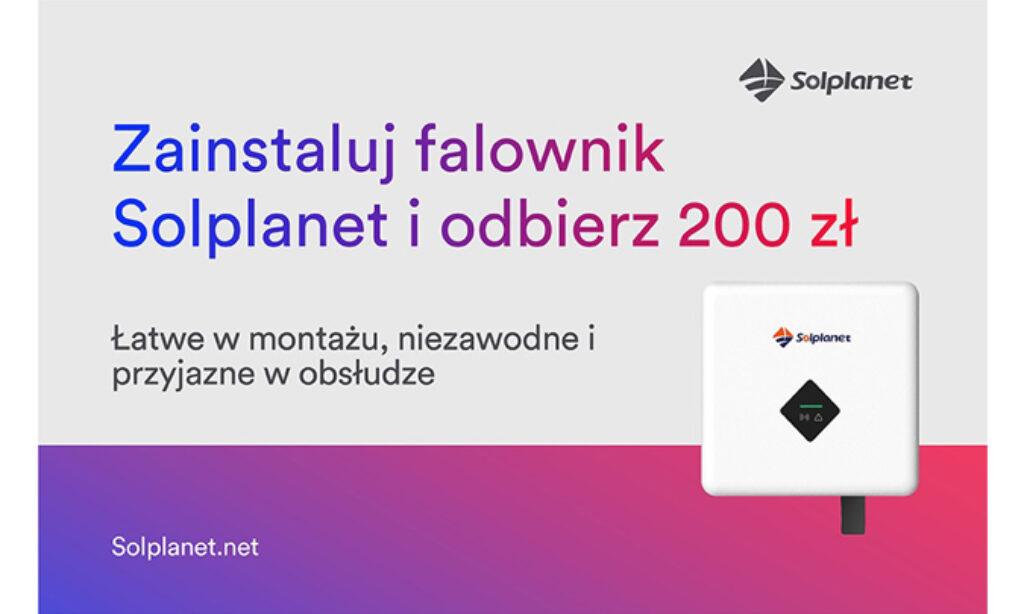 """""""200 zł dla Instalatora za każdy falownik"""""""