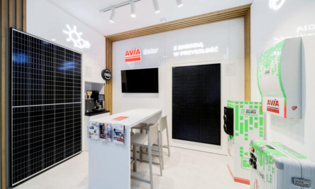 AVIA Solar otworzyła showroom