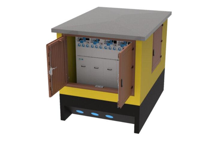Stacje transformatorowe SN/nN w elektrowni fotowoltaicznej