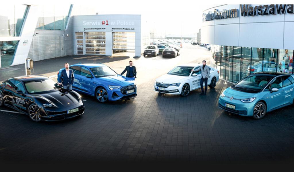 SunRoof i Porsche Inter Auto Polska zbudują fotowoltaiczny carport
