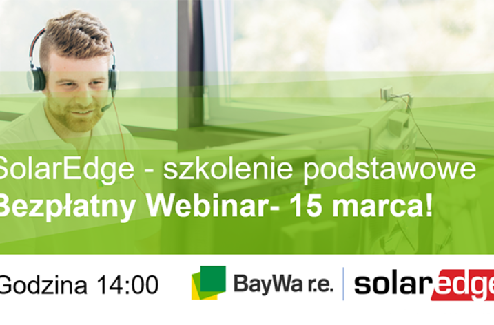 Webinar: Szkolenie podstawowe SolarEdge