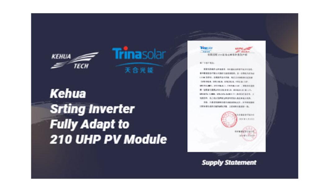 Falowniki KEHUA dostosowane do modułu 210 Trina Solar