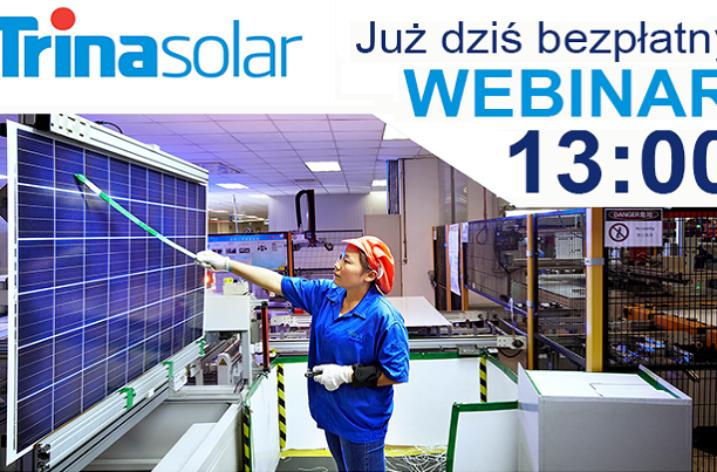 Bezpłatne szkolenie produktowe z Trina Solar