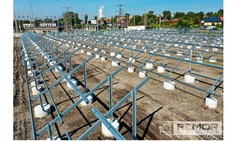 Naziemne konstrukcje balastowe Remor Solar Polska S.A. rozwiązaniem na trudne tereny