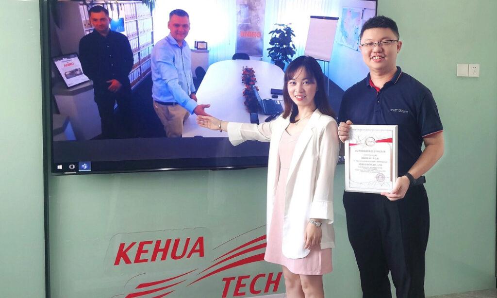 ANIRO  autoryzowanym dostawcą serwisu posprzedażowego firmy Kehua w Polsce