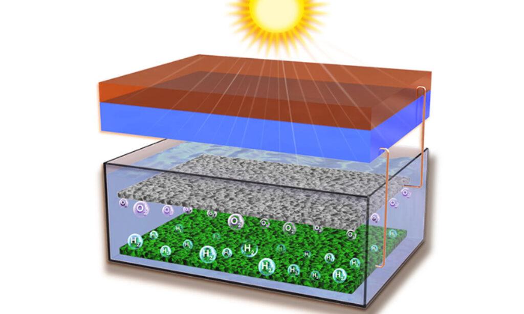 Nowy rekord wydajności w poszukiwaniu taniego słonecznego wodoru