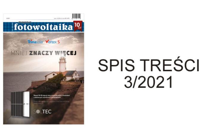 SPIS TREŚCI 3/2021
