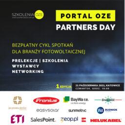 Zaproszenie na 1. edycję Portal OZE Partners Day